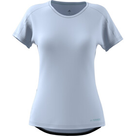 adidas TERREX TrailX Camiseta Mujer, aero blue